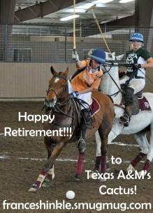 Happy Retirement Cactus!