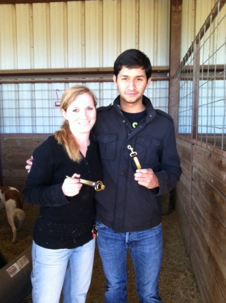 Madeline Mischel and Tomas Yepes (Amber Telscher not pictured), our Tournament Champions